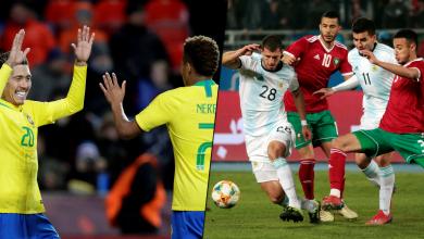 Photo of الأرجنتين تطيح بالمغرب والبرازيل تقسو على التشيك