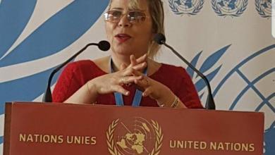 مسؤولة منتدى التحالف الدولي في باريس مسعودة بوغديري