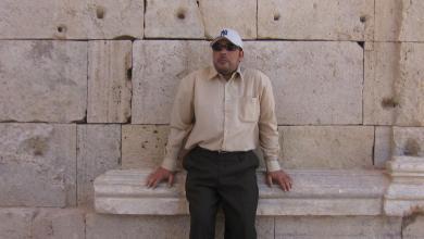 الشاعر الليبي فرج بشير أبو شينة