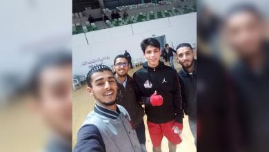 صورة الفلاح يمثل المنتخب الوطني للملاكمة في البطولة العربية