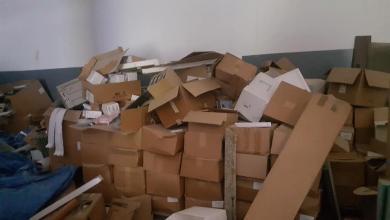 صورة ضبط أدوية منتهية الصلاحية في طرابلس