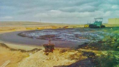 صورة توجيهات بسرعة تنفيذ مشروع خزان البنزين بطبرق