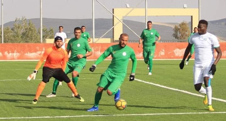 المدافع الليبي في نادي الوحدة إبراهيم العبيدي
