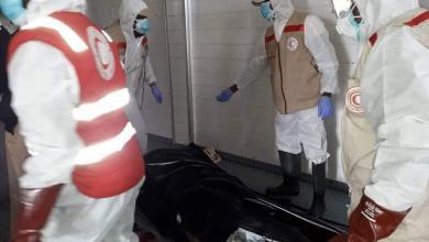 صورة انتشال 27 جثة في مرزق