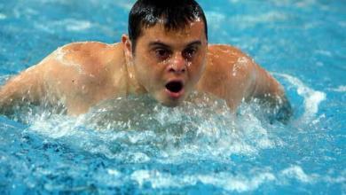 Photo of نعمان يحرم من ذهبية السباحة الأولمبياد الخاص بأبوظبي