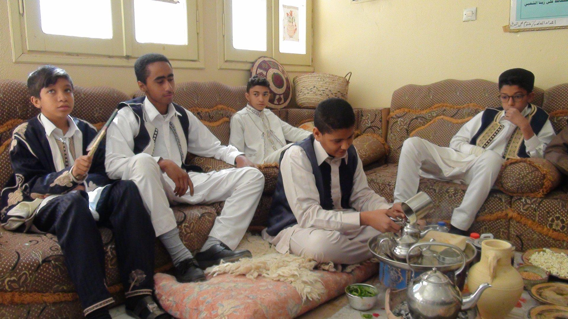 بلدية البوانيس تحيي الهوية الليبية في المدراس