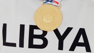 صورة تألق ليبي في الأولمبياد الخاص بالإمارات
