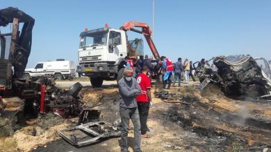 Photo of حادث مأساوي يودي بحياة 7 أشخاص بسرت