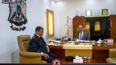 """صورة """"خطوة جديدة"""" لتوحيد جهود الأمن في ليبيا"""
