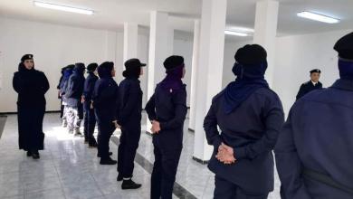 المرأة الليبية تشارك في نهظة الشرطة القضائية