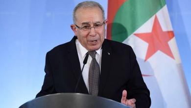 نائب رئيس الوزراء الجزائري رمطان لعمامرة