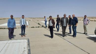 Photo of لجنة من المطارات لمعاينة غدامس الدولي