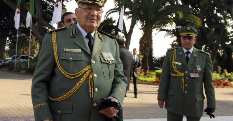 القائد العام للجيش الجزائري أحمد قايد صالح