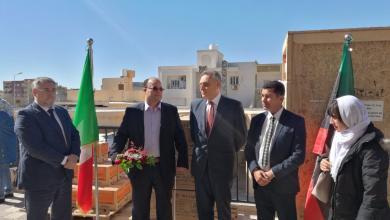 زيارة السفير الإيطالي لدى ليبيا جوزيبي بوتشينو مدينة زوارة
