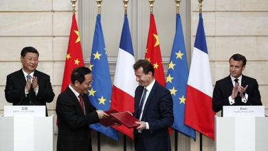 Photo of 15 اتفاقية بين الصين وفرنسا بقيمة 40 مليار يورو