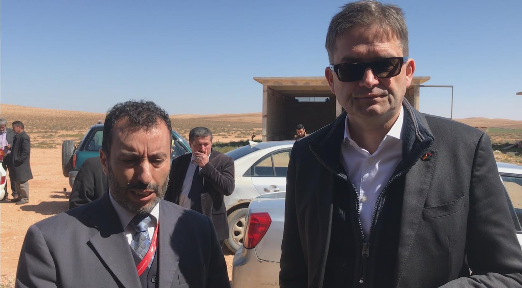 السفير الألماني لدى ليبيا أوليفر أوفيتشا
