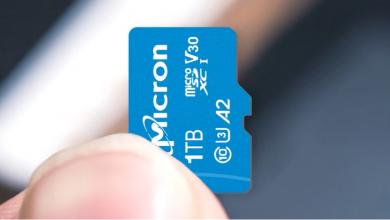 """بطاقة ذاكرة بسعة هائلة من """"ميكرون"""""""