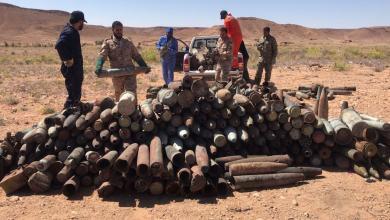 تفجير 30 طن من مخلفات الحرب في مزدة
