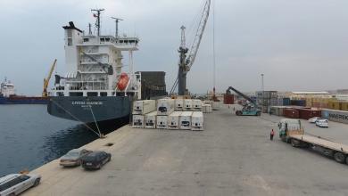Photo of شحنات من المواشي المستوردة تدخل ليبيا عبر ميناء الخمس