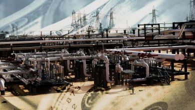 حقل الشرارة النفطي والدولار