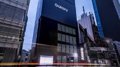 صورة بتصميم رائع.. سامسونغ تفتح أكبر متاجرها في طوكيو