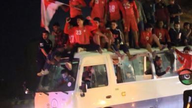 احتفالية صعود نادي راسكو للدرجة الثانية -راس لانوف