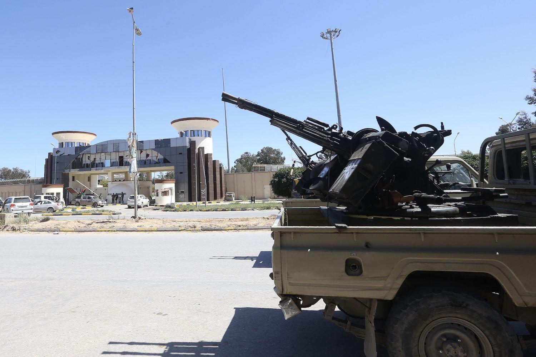 اشتباكات طرابلس ليبيا