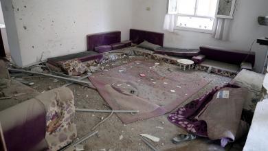آثار اشتباكات طرابلس