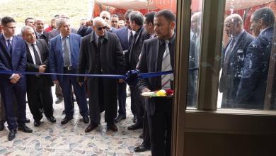 افتتاح مصرف الوحدة في مدينة غريان