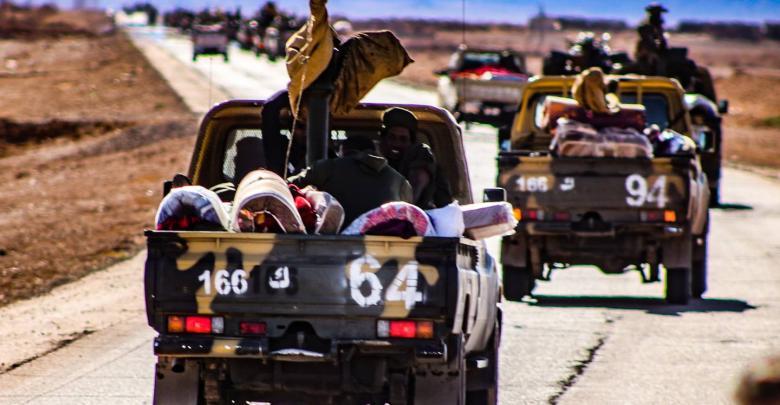 الجيش الليبي/ الكتيبة 166 مشاة - صور أرشيفية