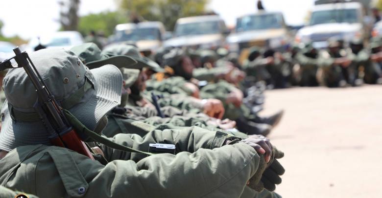 الجيش الليبي طرابلس ليبيا الجيش الوطني