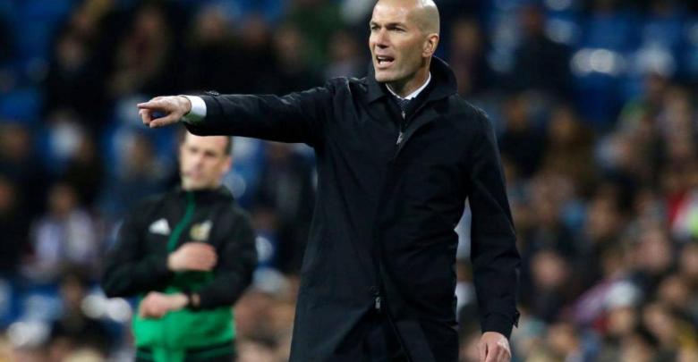 الفرنسي زين الدين زيدان، مدرب ريال مدريد الإسباني