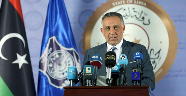 المتحدث الرسمي باسم الداخلية العقيد مبروك عبد الحفيظ