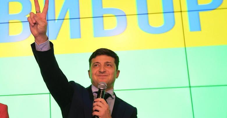 الممثل الكوميدي فولوديمير زيلينسكي
