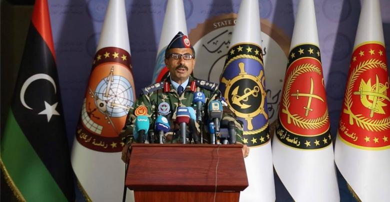 """الناطق الرسمي باسم الجيش – الوفاق """"عقيد طيار محمد قنونو"""""""