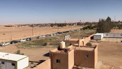 "Photo of غدامس.. أزمة وقود قرب ""الملتقى الجامع"" (صور)"