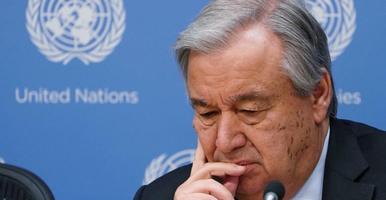 أمين العام للأمم المتحدة أنطونيو غوتيريش