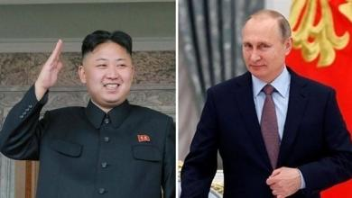بوتين - كيم جونغ أون