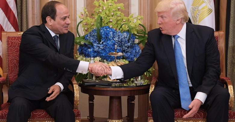 ترامب والسيسي