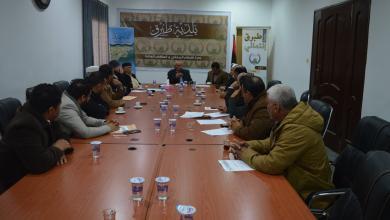 صورة تشكيل مجلس شورى في بلدية طبرق