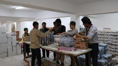 جهود اغاثة النازحين - ارشيفية