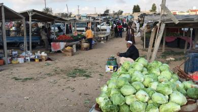 صورة ارتفاع أسعار الخضروات واللحوم بسوق تيجي