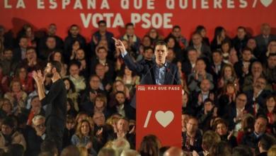 صورة الاشتراكي الإسباني يحصد أغلبية مقاعد البرلمان