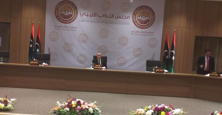 مجلس النواب يعقد أول جلسة في بنغازي