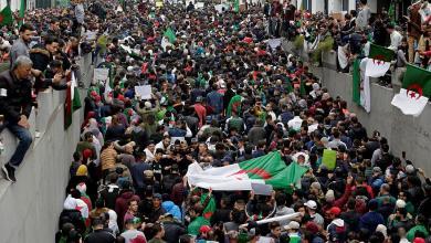 مظاهرات الجزائرية 33