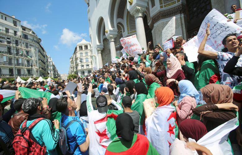 مظاهرات جزائرية