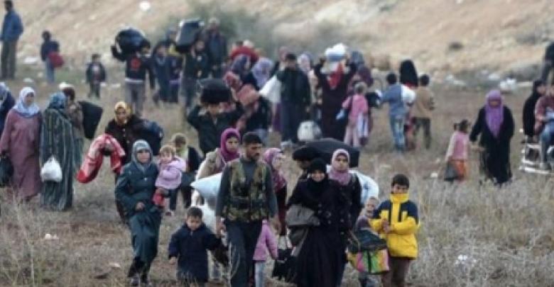 نازح سوري