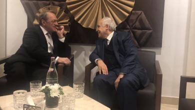 نائب وزير الخارجية الروسي ميخائيل بوغدانوف وغسان سلامة