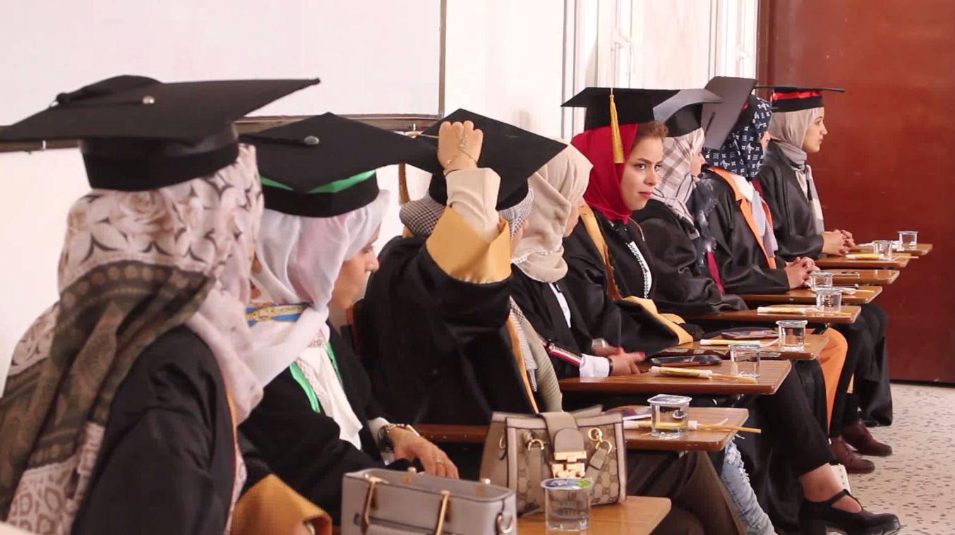 حفل تخريج طالبات الصيدلة بالمعهد العالي للتقنيات الطبية بني وليد