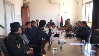 Photo of اجتماع أمني في غريان